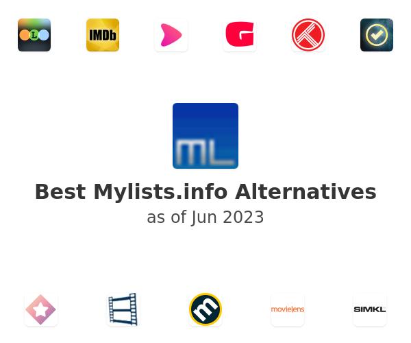 Best Mylists.info Alternatives