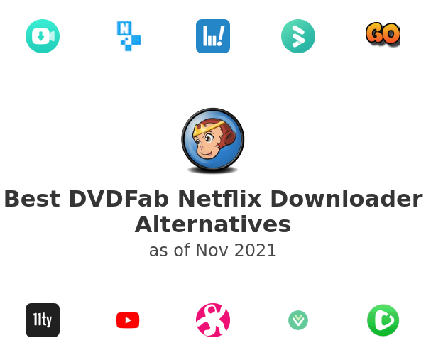 Best DVDFab Netflix Downloader Alternatives
