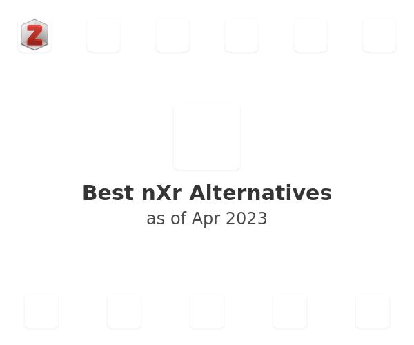 Best nXr Alternatives