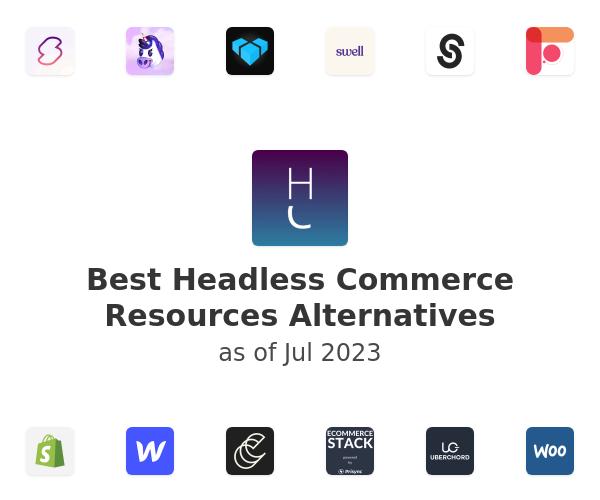 Best Headless Commerce Resources Alternatives
