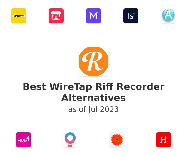 Best WireTap Riff Recorder Alternatives