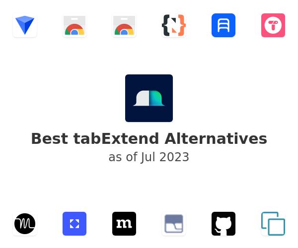 Best tabExtend Alternatives