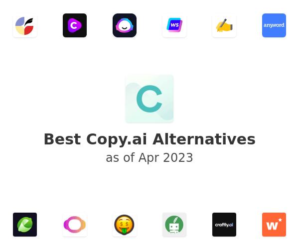 Best Copy.ai Alternatives