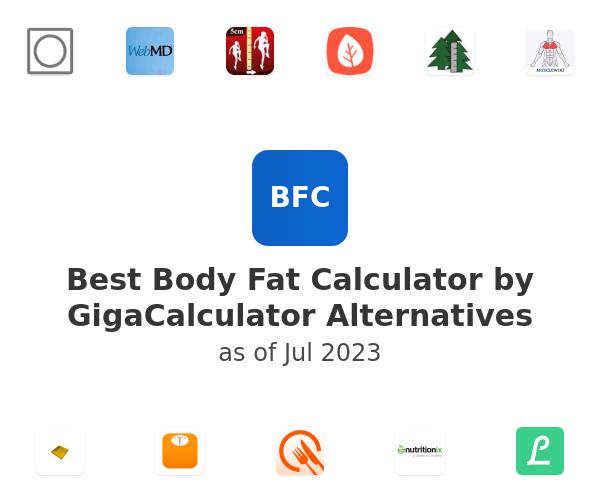 Best Body Fat Calculator by GigaCalculator Alternatives
