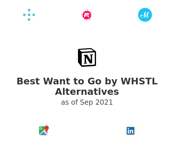 Best Want to Go by WHSTL Alternatives