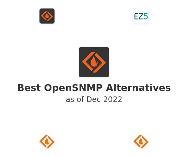 Best OpenSNMP Alternatives