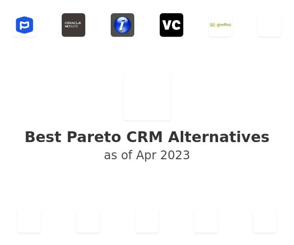 Best Pareto CRM Alternatives