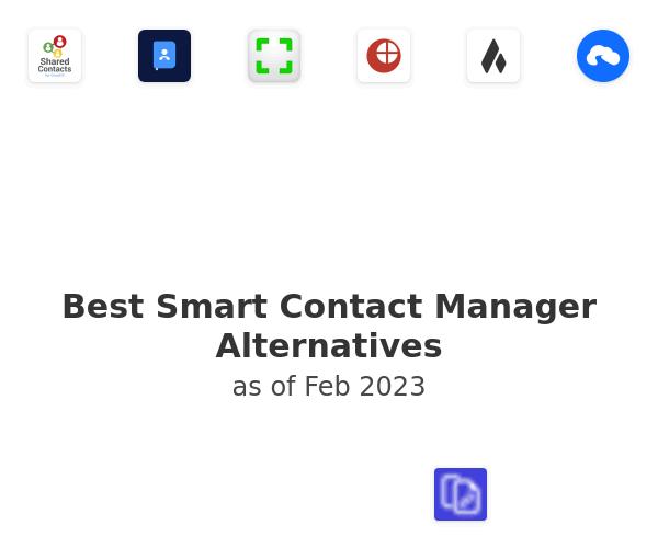Best Smart Contact Manager Alternatives
