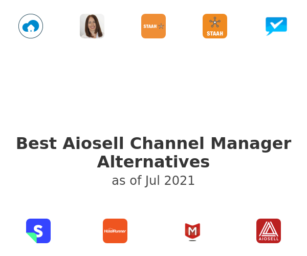 Best Aiosell Channel Manager Alternatives
