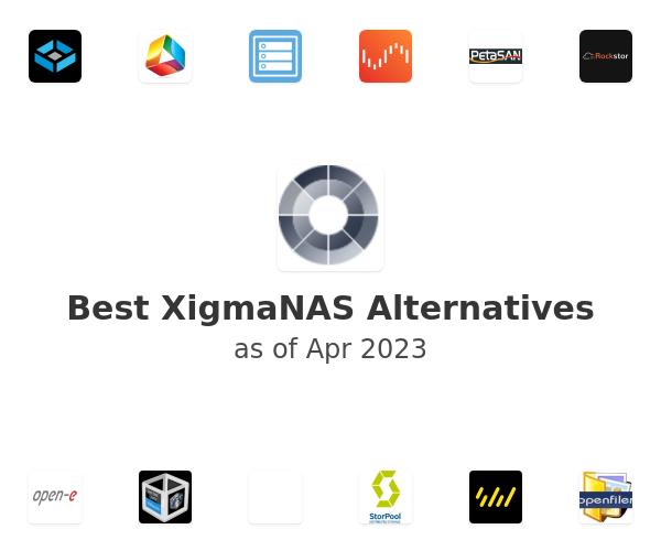 Best XigmaNAS Alternatives
