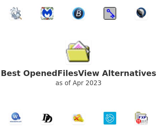 Best OpenedFilesView Alternatives