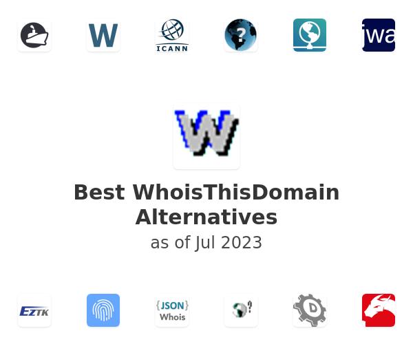 Best WhoisThisDomain Alternatives