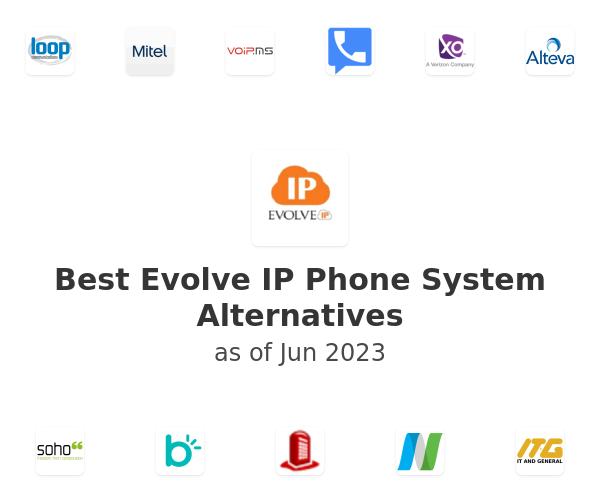 Best Evolve IP Phone System Alternatives