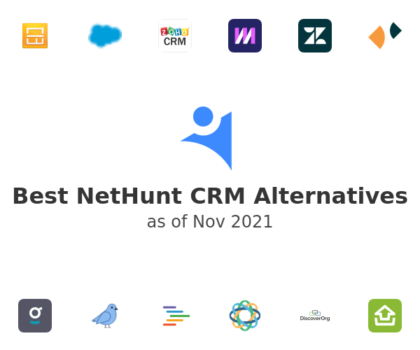 Best NetHunt CRM Alternatives