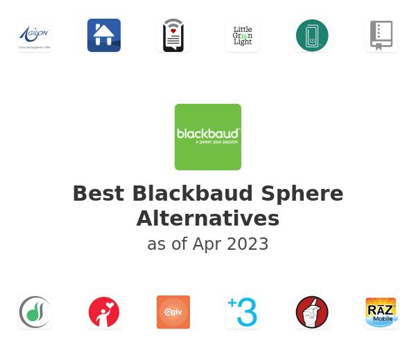 Best Blackbaud Sphere Alternatives