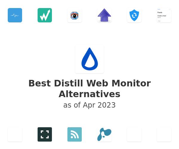 Best Distill Web Monitor Alternatives