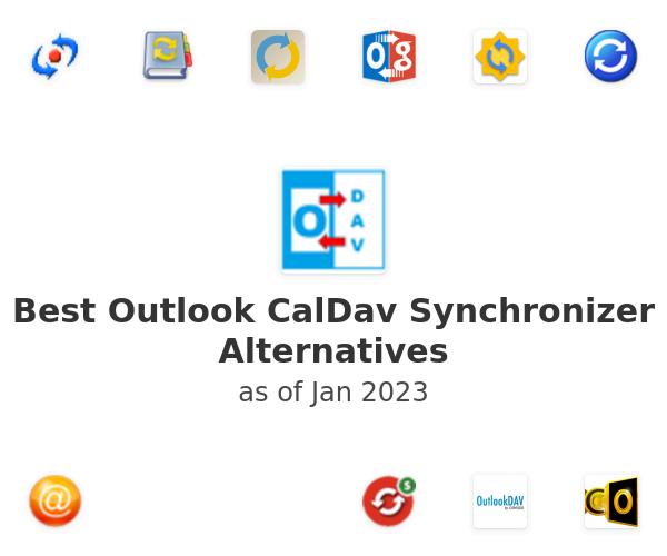 Best Outlook CalDav Synchronizer Alternatives