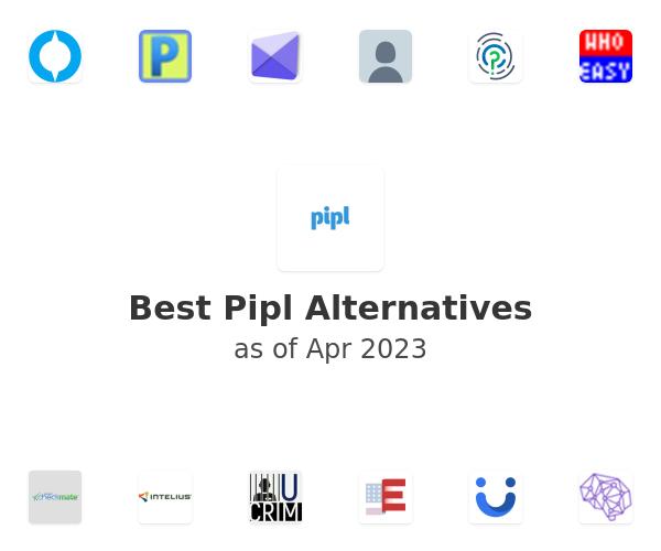 Best Pipl Alternatives