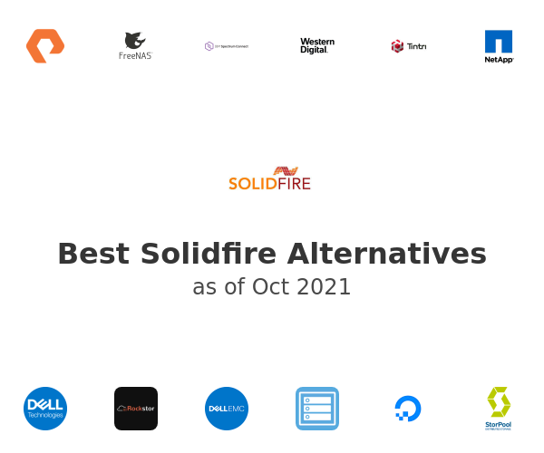 Best Solidfire Alternatives