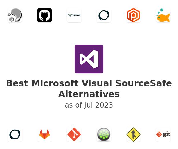 Best Microsoft Visual SourceSafe Alternatives