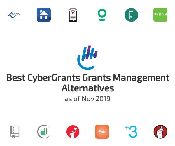 Best CyberGrants Grants Management Alternatives