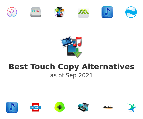 Best Touch Copy Alternatives