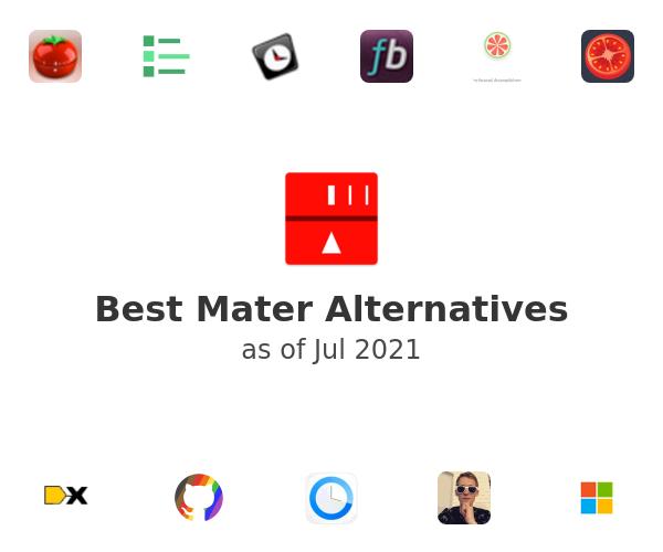 Best Mater Alternatives