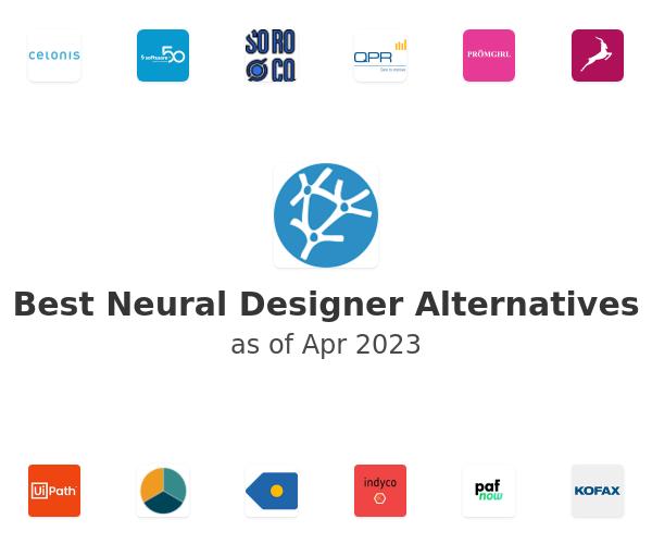 Best Neural Designer Alternatives