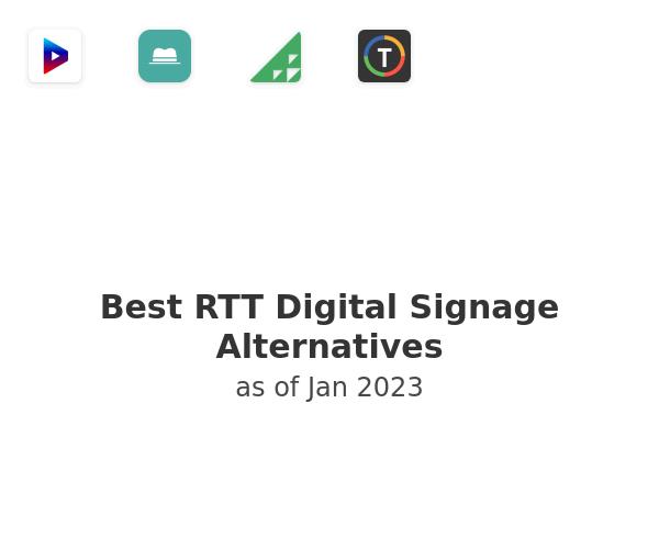 Best RTT Digital Signage Alternatives
