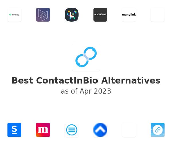 Best ContactInBio Alternatives
