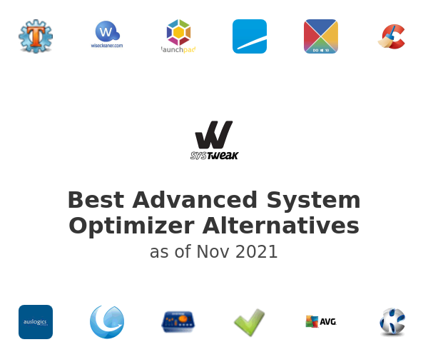 Best Advanced System Optimizer Alternatives