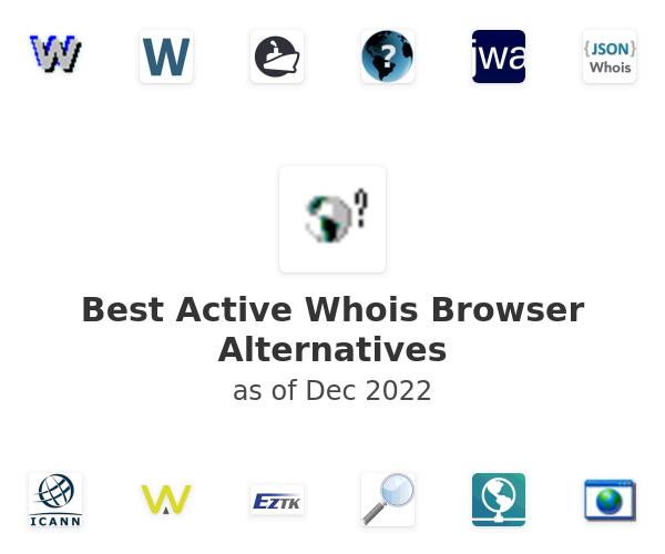 Best Active Whois Browser Alternatives