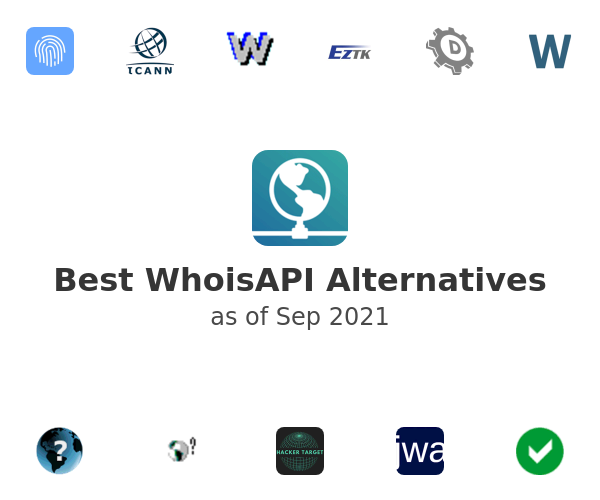 Best WhoisAPI Alternatives