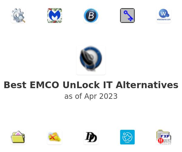 Best EMCO UnLock IT Alternatives