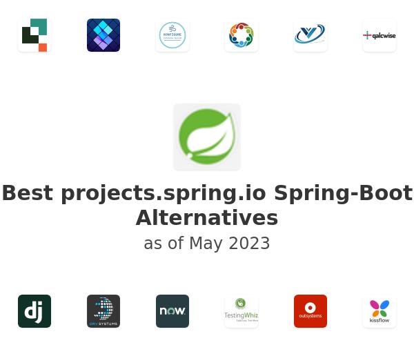 Best Spring-Boot Alternatives
