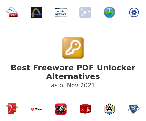 Best Freeware PDF Unlocker Alternatives