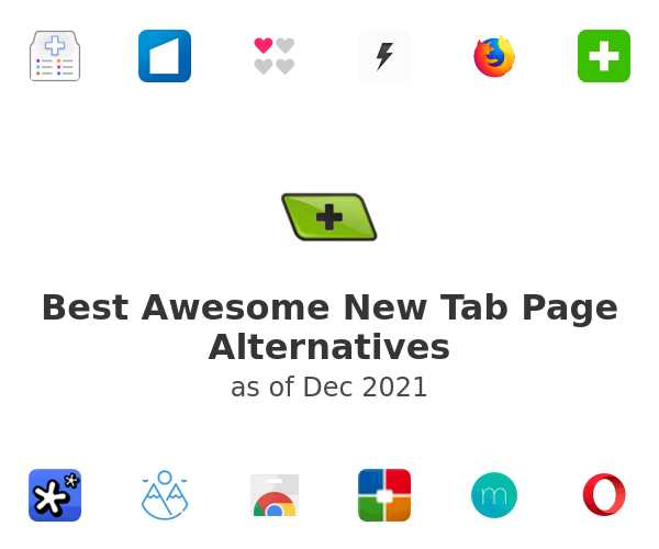 Best Awesome New Tab Page Alternatives