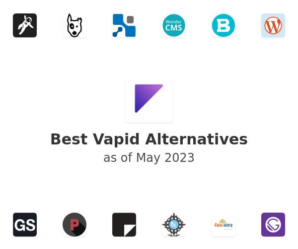 Best Vapid Alternatives
