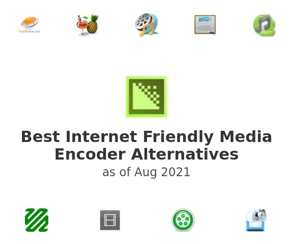 Best Internet Friendly Media Encoder Alternatives