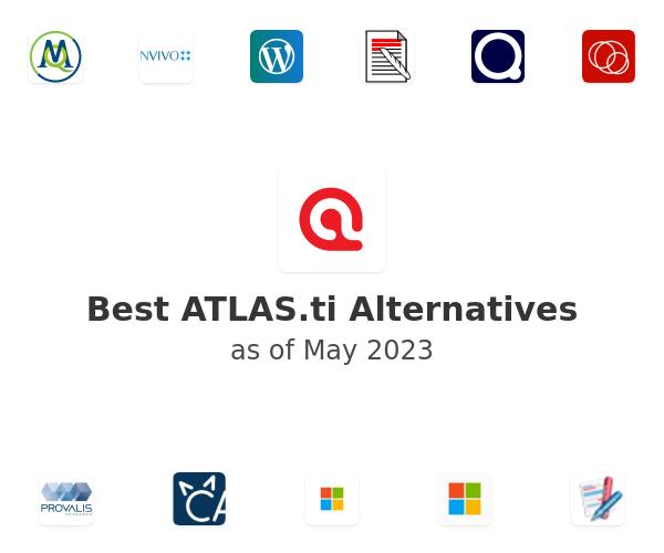 Best ATLAS.ti Alternatives