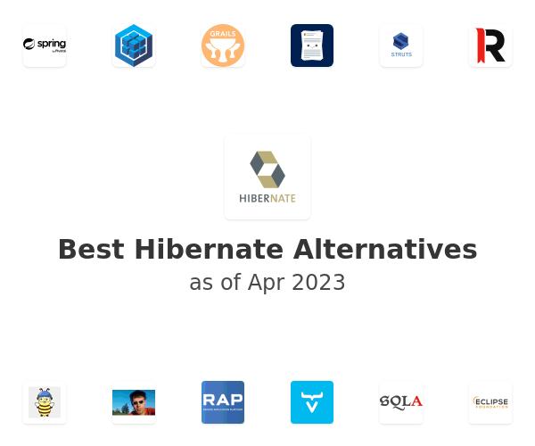 Best Hibernate Alternatives