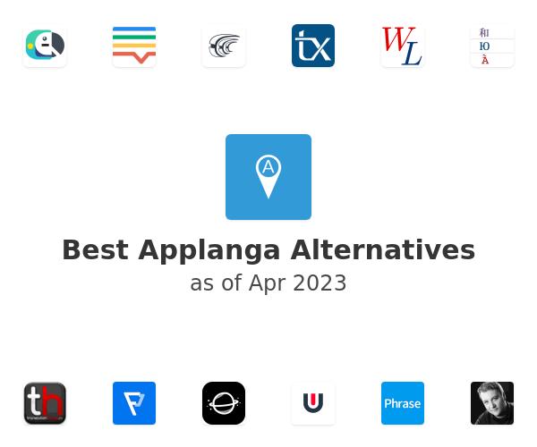 Best Applanga Alternatives