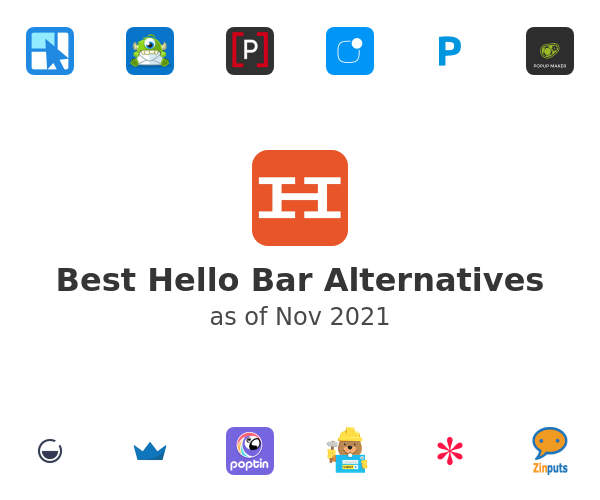 Best Hello Bar Alternatives