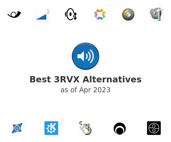 Best 3RVX Alternatives