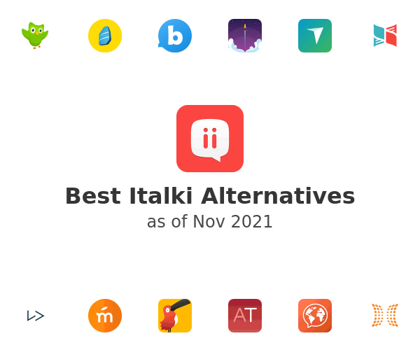 Best Italki Alternatives