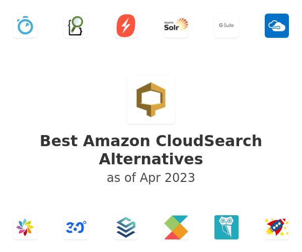 Best Amazon CloudSearch Alternatives