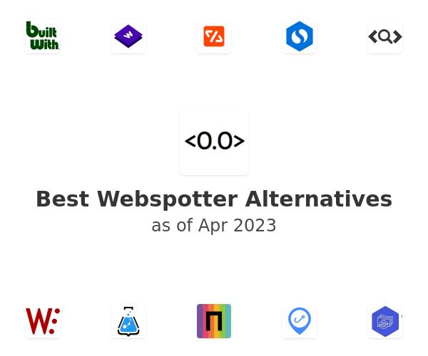 Best Webspotter Alternatives