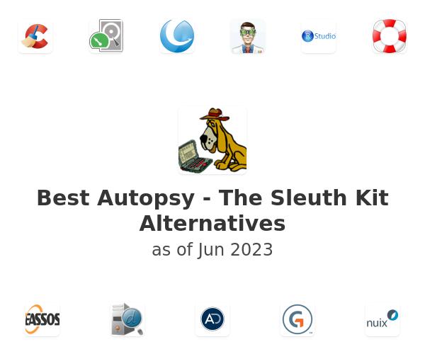 Best Autopsy - The Sleuth Kit Alternatives