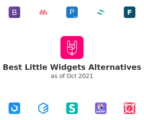 Best Little Widgets Alternatives