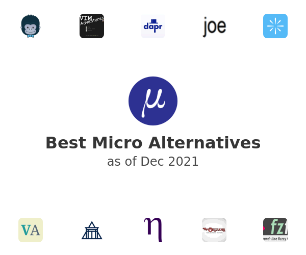 Best Micro Alternatives